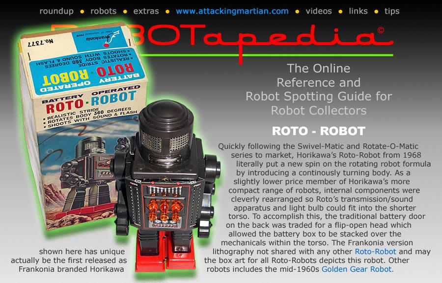robotapedia presents horikawa roto robot frankonia. Black Bedroom Furniture Sets. Home Design Ideas