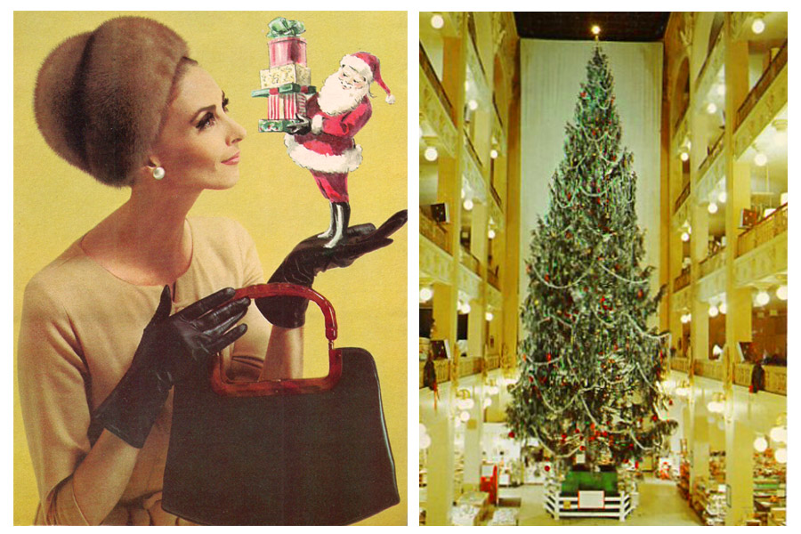 below founded in 1877 the dey brothers department store of syracuse new york was known for fashionable high quality merchandise - Sterling Christmas Trees